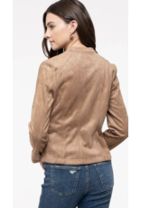 AAAAA fASHION AAAAA Fashion Moto Jacket Khaki 020L09