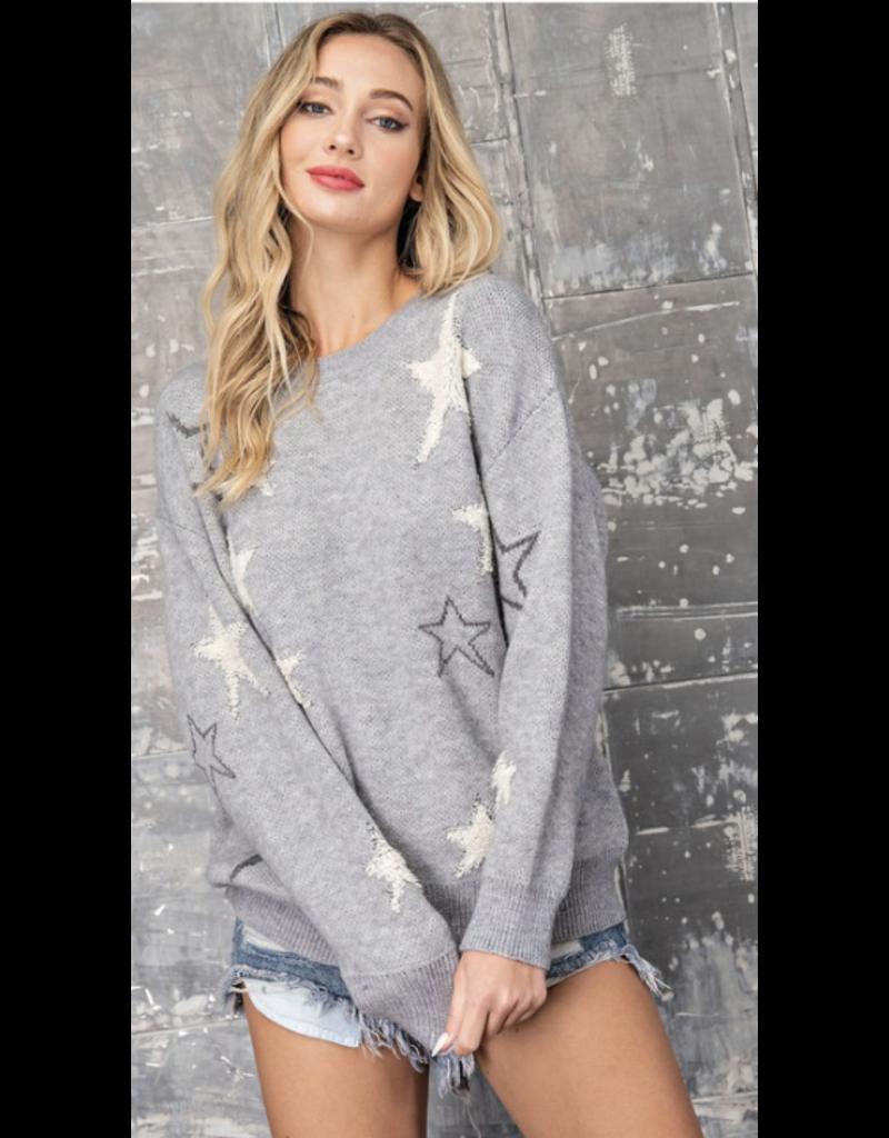 Style U Style U Grey Sweater SU10243