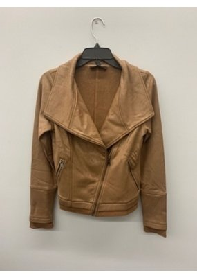 Dance & Marvel Dance & Marvel Moto Jacket Taupe DMJ1378