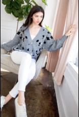 THML THML Grey Open Sweater TMK963
