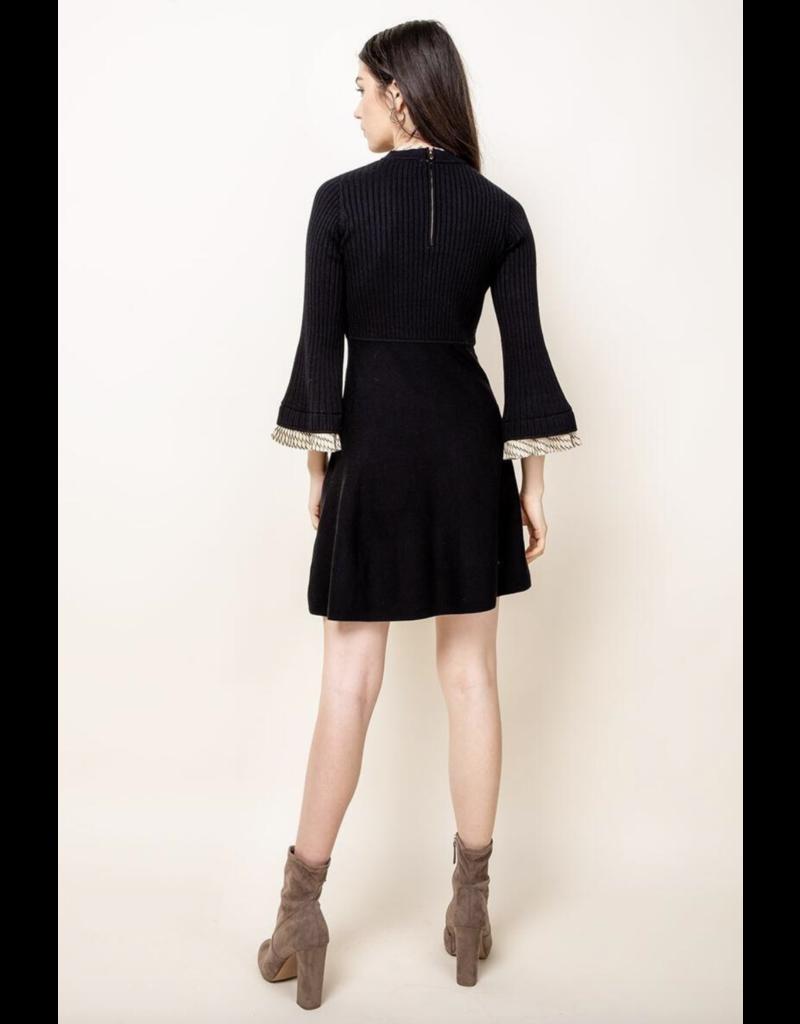 THML THML Black Dress TMK1117