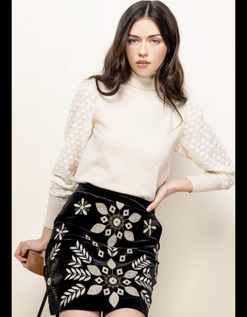 THML THML Black Skirt WCT621