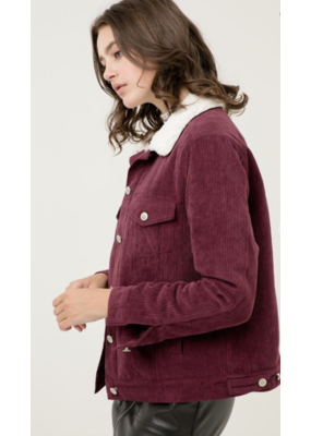 Fashion District LA Fashion District LA Corduroy Jacket 3-A