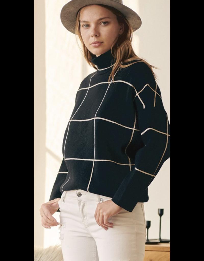 Fashion District LA Fashion District LA Plaid Sweater 1