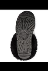 UGG Ugg Classic Mini Fluff Collar Black
