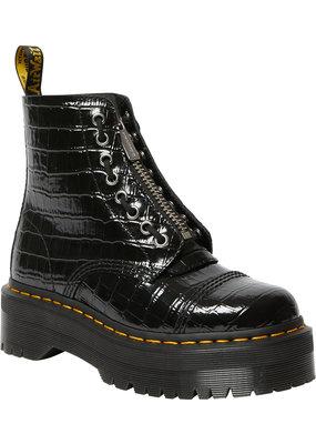 Dr. Martens Sinclair Lamper Croco Patent Black Boot