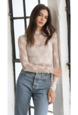 By Together By Together Long Sleeve Fitted Top L4573