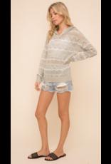 Hem & Thread Hem + Thread Mix Stripe Sweater 30520J