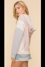 Hem & Thread Hem + Thread Stripe Hoodie 30607W