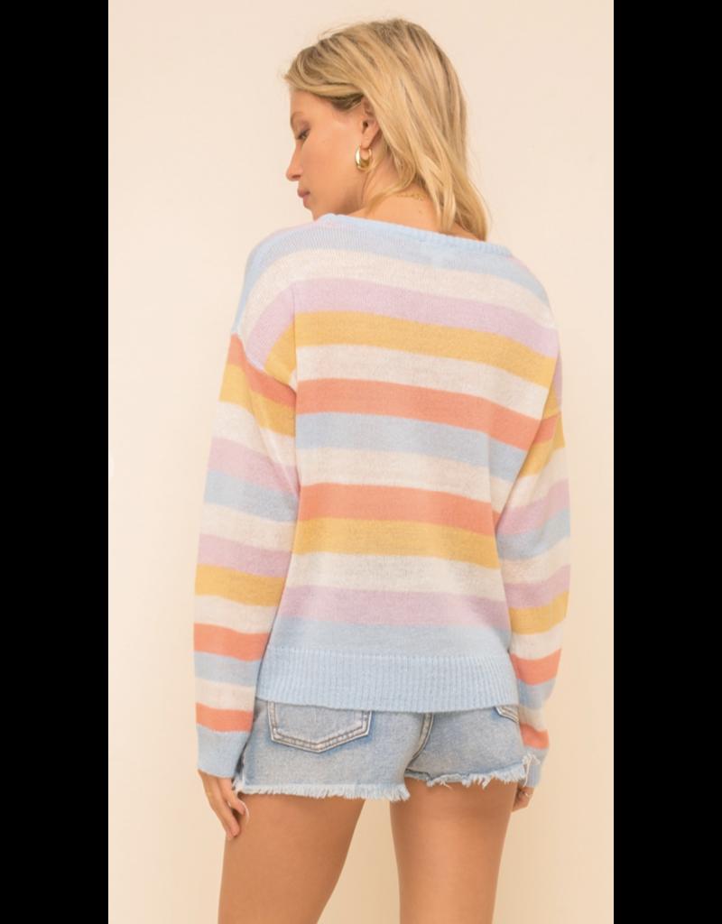 Hem & Thread Hem + Thread Stripe Sweater 30434J