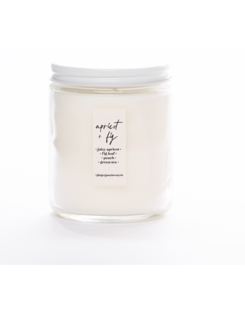 Ginger June Candle Co. Ginger June Candle Co. Not Drinking Alone if the Dog is Home- Apricot Fig Candle