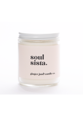Ginger June Candle Co. Ginger June Candle Co. Soul Sista- Blackberry Amber Candle