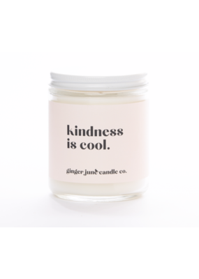Ginger June Candle Co. Ginger June Candle Co. Kindess Is Cool- Vanilla Oak Candle