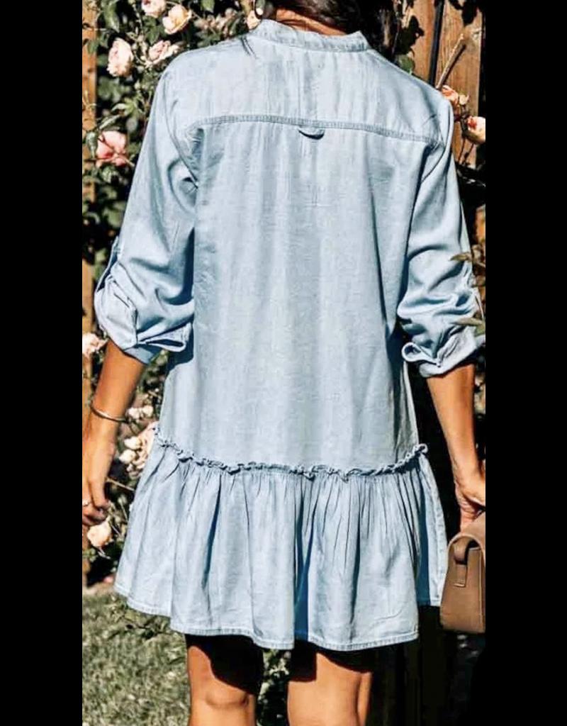MAZIK Mazik Button Down Dress MK2110
