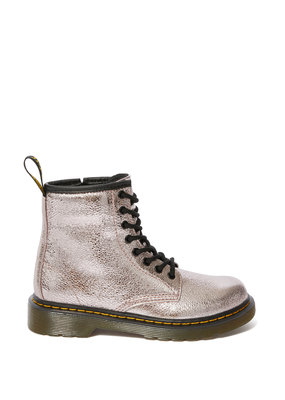 Dr. Martens Junior Crinkle Metallic Pink Boot