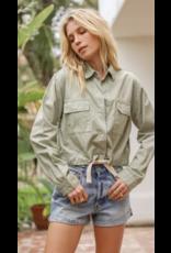 Hem & Thread Hem + Thread Snap Button Jacket 30875W