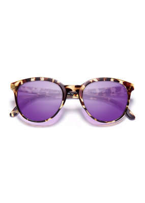 SUNSKI Sunski Makani Sunnies 1048-Tortoise Purple