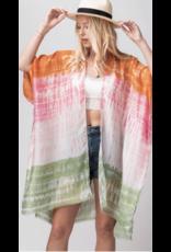 Trend Notes Trend Notes Gradient Tie Dye Kimono 0253-8460-2