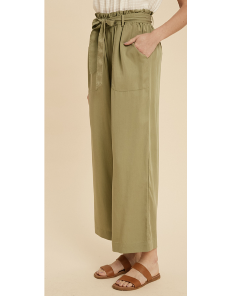 In Loom In Loom Wide Leg Pant with Bow ILB3236
