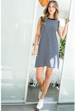 THML THML Stripe Knit Dress TMK1261-2