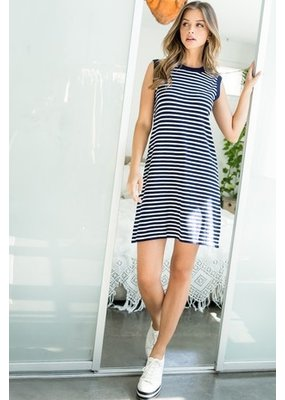 THML THML Stripe Knit Dress TMK1261-2