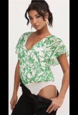 Lush Lush Flutter Sleeve Bodysuit T15646D-I