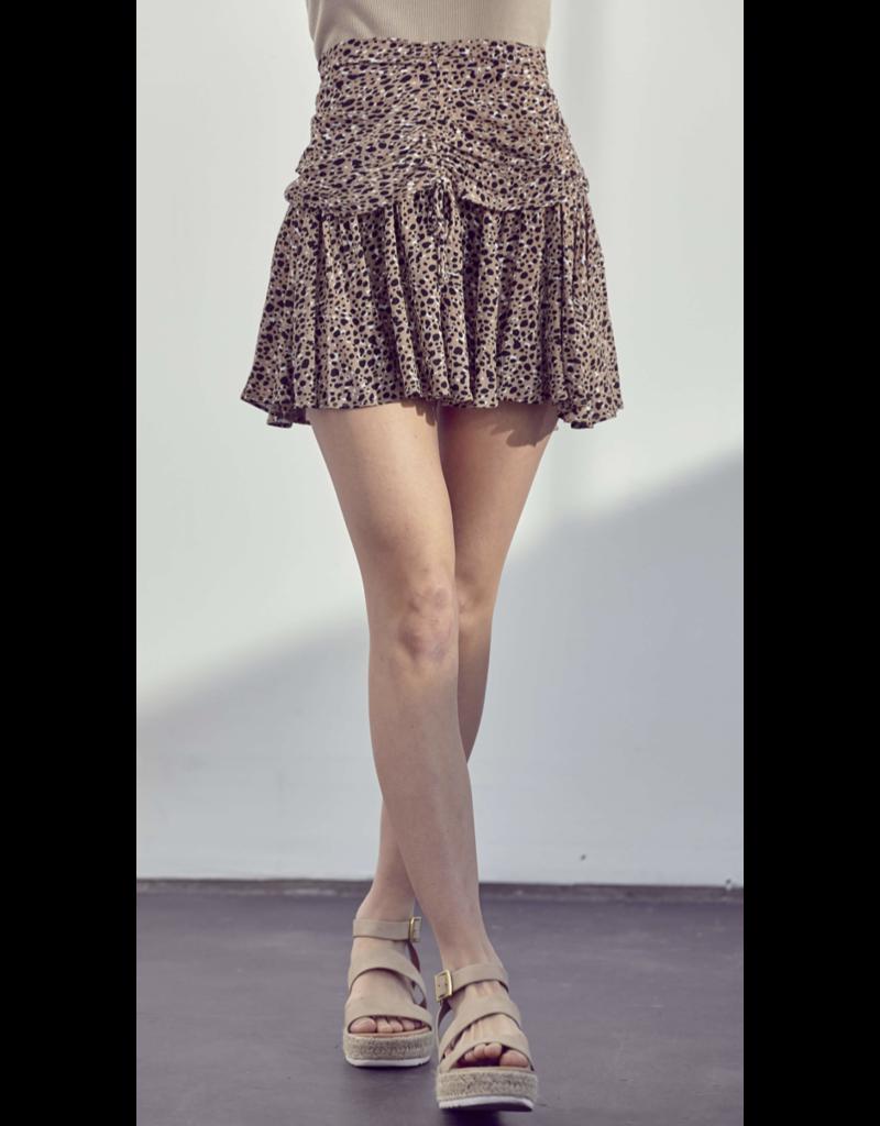 Lush Lush Mini Floral Skirt LS30731-CI