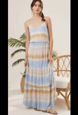 Lush Lush Cami Tiered Maxi Dress DR96106-I