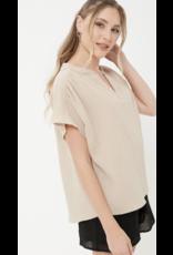 Lush Lush Short Sleeve Top T16303-I