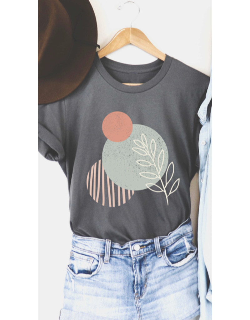 Blume + Co. Blume + Co. Circles of Leaves T-Shirt 7614-T