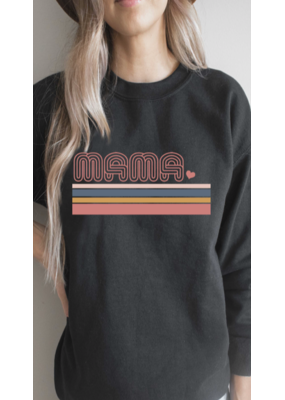 Blume + Co. Blume + Co. Mama Graphic Sweatshirt 7593-S