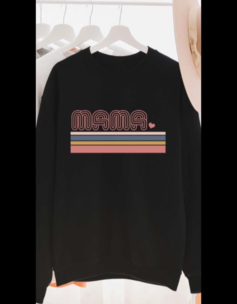 Blume + Co. Blume + Co. Mama Graphic Sweatshirt 7593-S