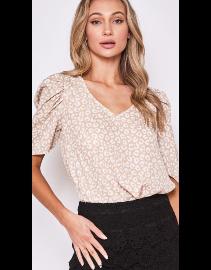 Style U Style U Puff Sleeve Blouse SU18370