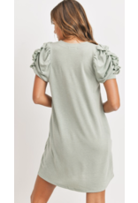 Style U Style U French Terry T-Shirt Dress SU18410
