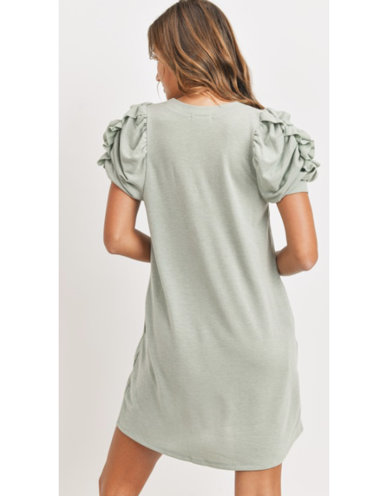 Style U Style U French Terry T-Shirt Dress SU18410