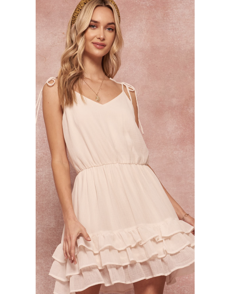 Promesa Promesa Crepe Mini Dress JDR10032