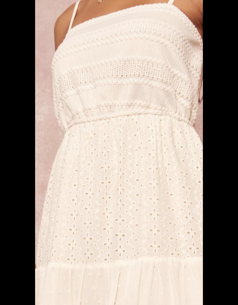 Promesa Promesa Crochet Maxi Dress ADC0100