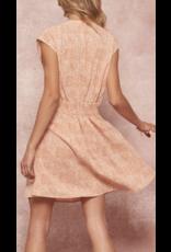 Promesa Promesa Polka Dot Mini Dress JDC9885