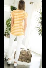 THML THML Short Flutter Sleeve Top THS0893-1