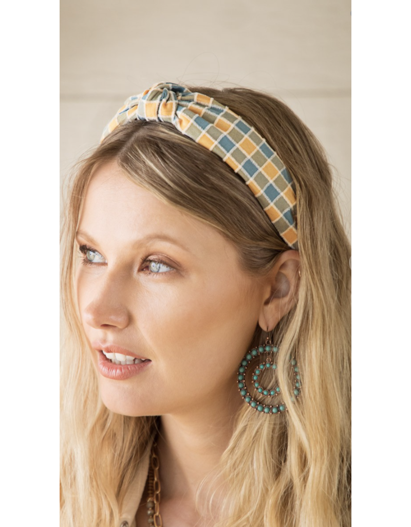 urbanista Urbanista Checkerboard Headband CY2RTB2333