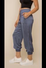 Hem & Thread Hem + Thread Satin Pants 30481