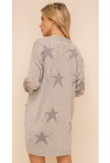 Hem & Thread Hem + Thread Star Cardigan 30528J