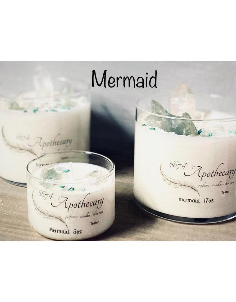 6674 Apothecary 6674 Apothecary Mermaid 8oz Candle