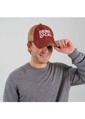 Retro Brand Drink Local Hat