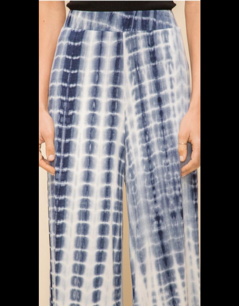 Hem & Thread Hem + Thread Wide Leg Tie Dye Pant 30495W