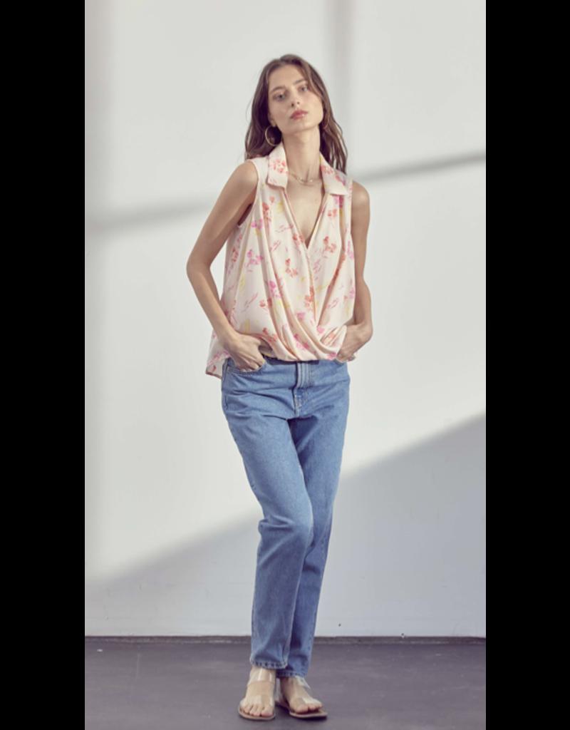 Lush Floral Blouse T15453-I