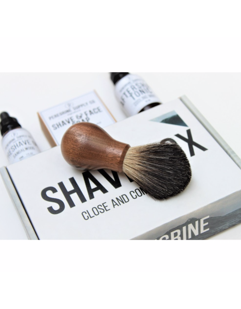Peregrine Supply Co. Peregrine Supply Co. Shave Box Care Set