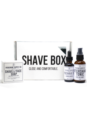 Peregrine Supply Co. Shave Box Care Set