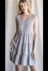 Heyson Heyson Ruffled Tiered Dress HD6223