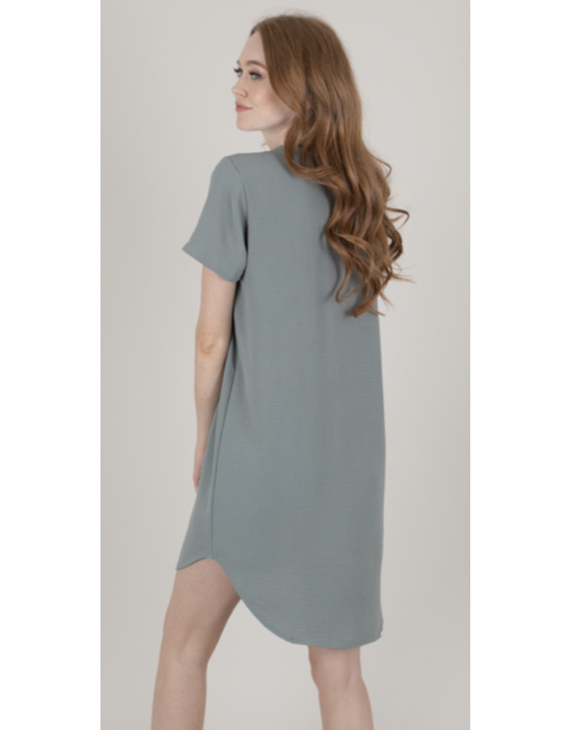 Space 46 Space 46 Casual T-Shirt Dress TDR3000